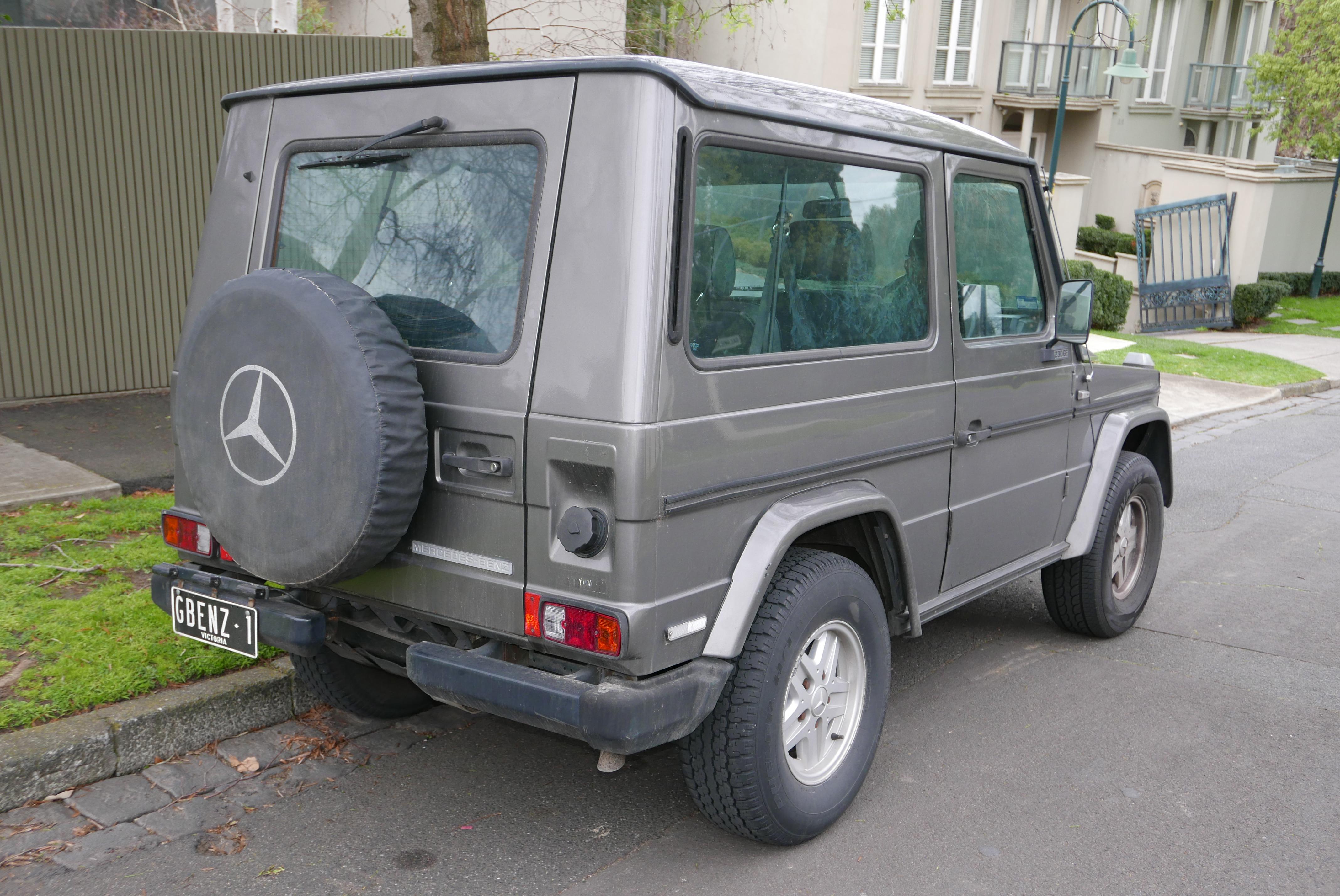 Fichier 1987 mercedes benz 230 ge g 460 3 door wagon for Mercedes benz toorak