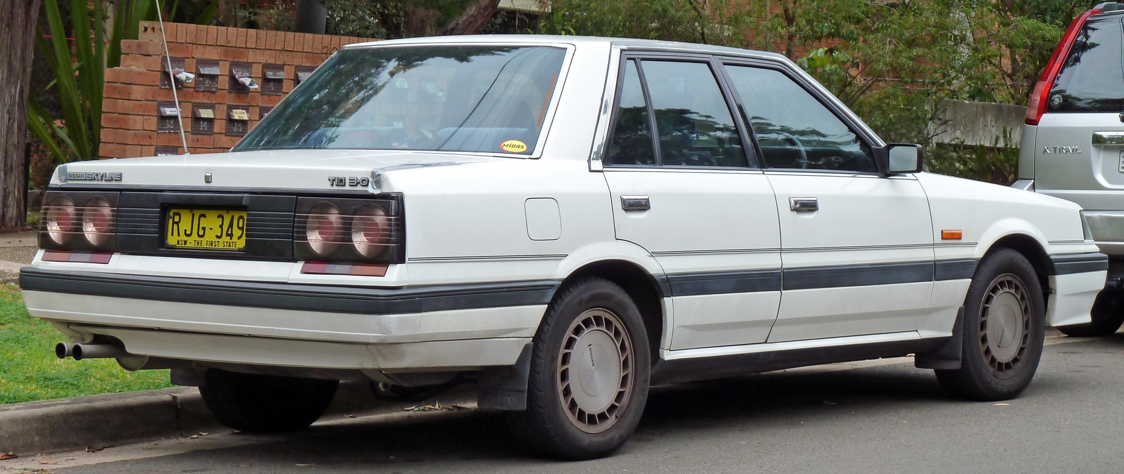 File 1988 1990 Nissan Skyline R31 Ti Sedan 02 Jpg