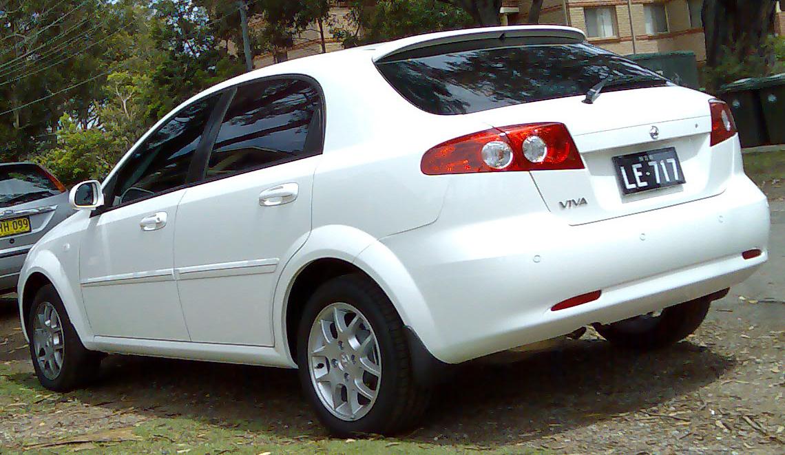File2007 2008 Holden Viva Jf My08 Hatchback 01g Wikimedia