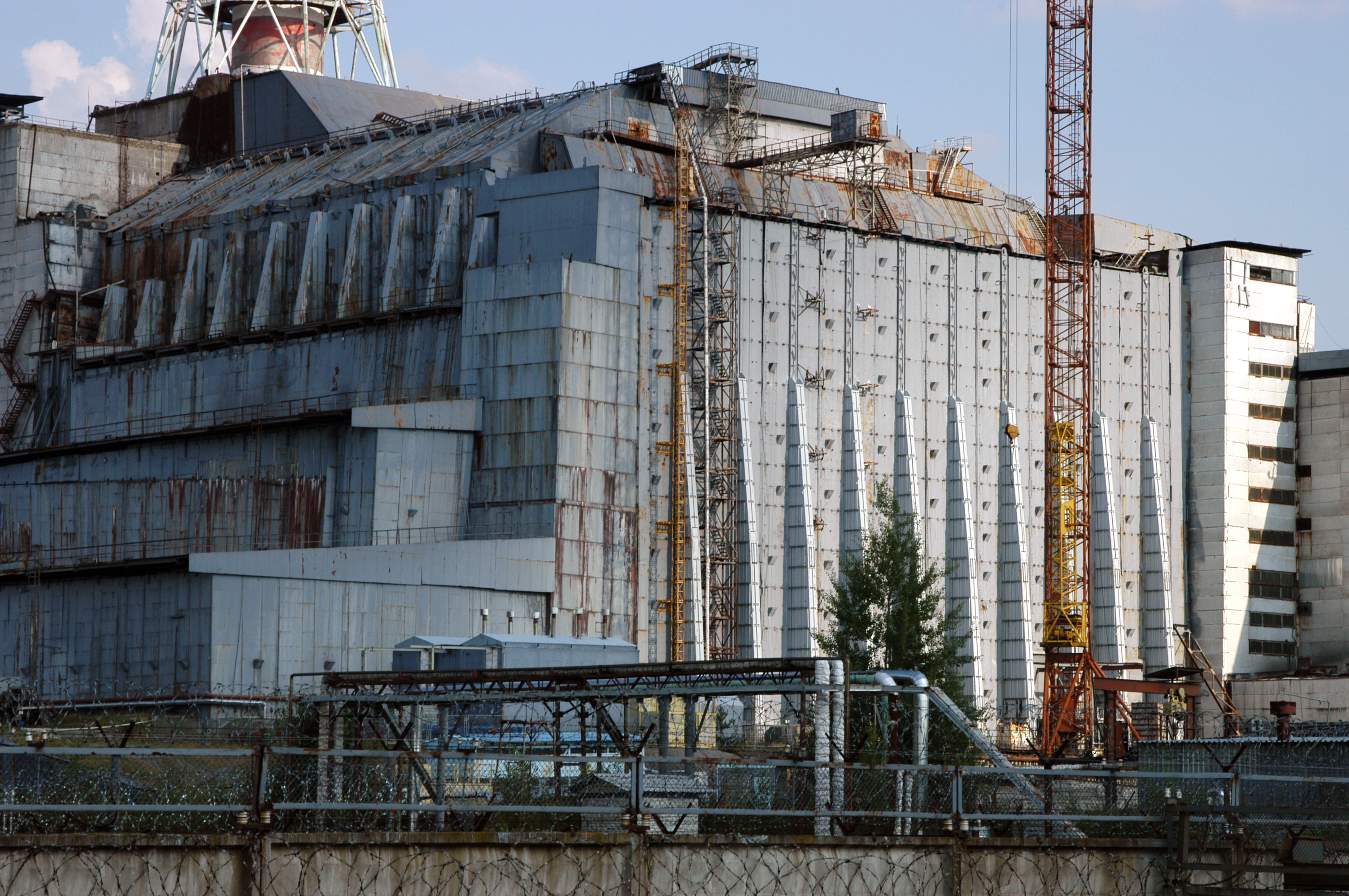 Chernobyl Nuclear Power Plant sarcophagus - Wikipedia