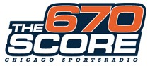 WSCR clear-channel sports radio station in Chicago