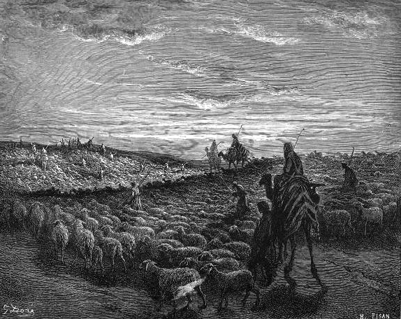 File:Abraham Journeying into the Land of Canaan.png - Wikipedia ...