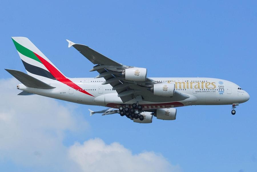エミレーツ航空のA380-800