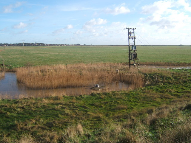 Aldeburgh Marsh from West Row Point - geograph.org.uk - 319094