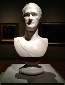 marble bust by Giuseppe Ceracchi