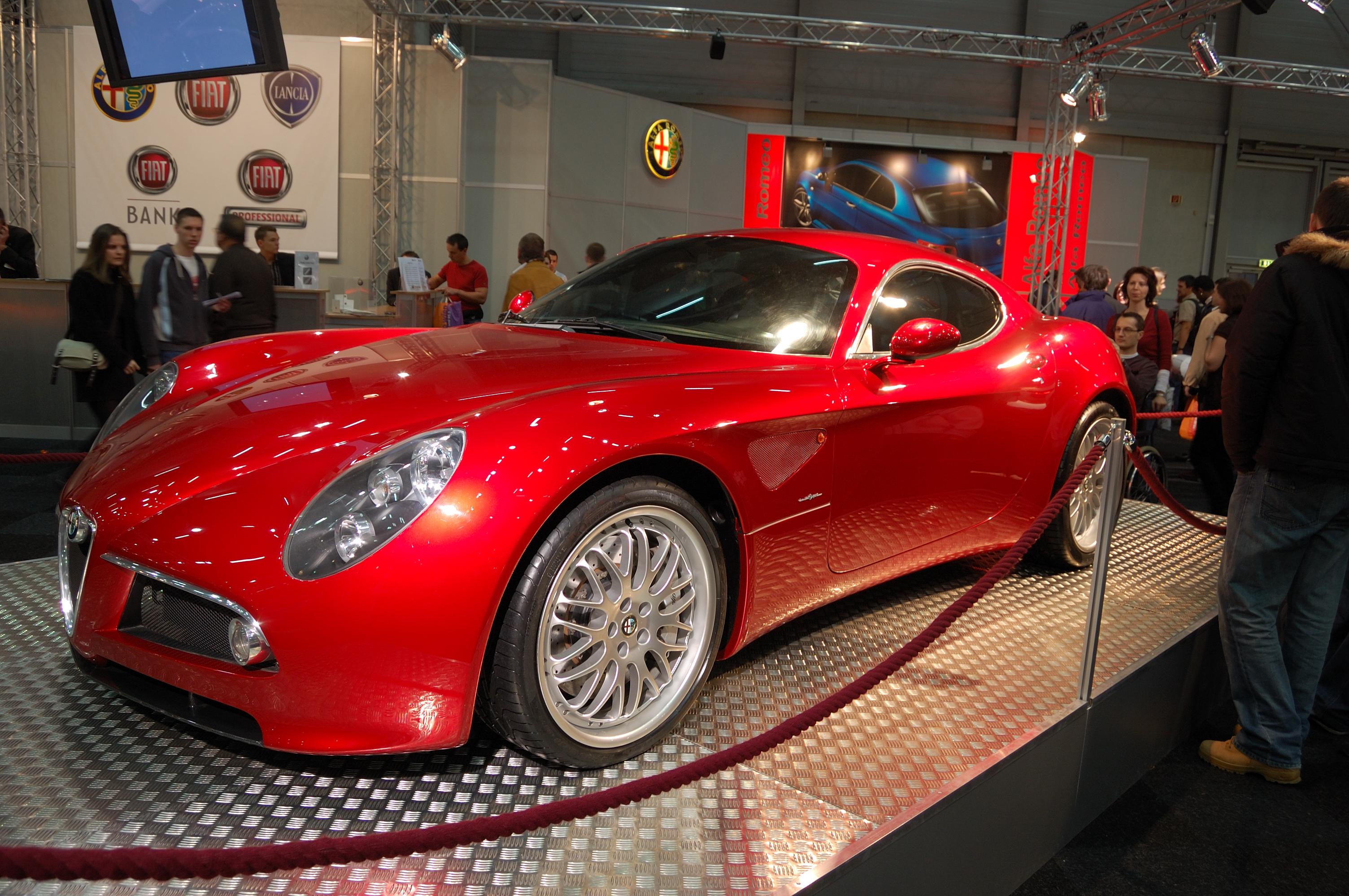 Alfa Romeo 8C petizione Wikiwand