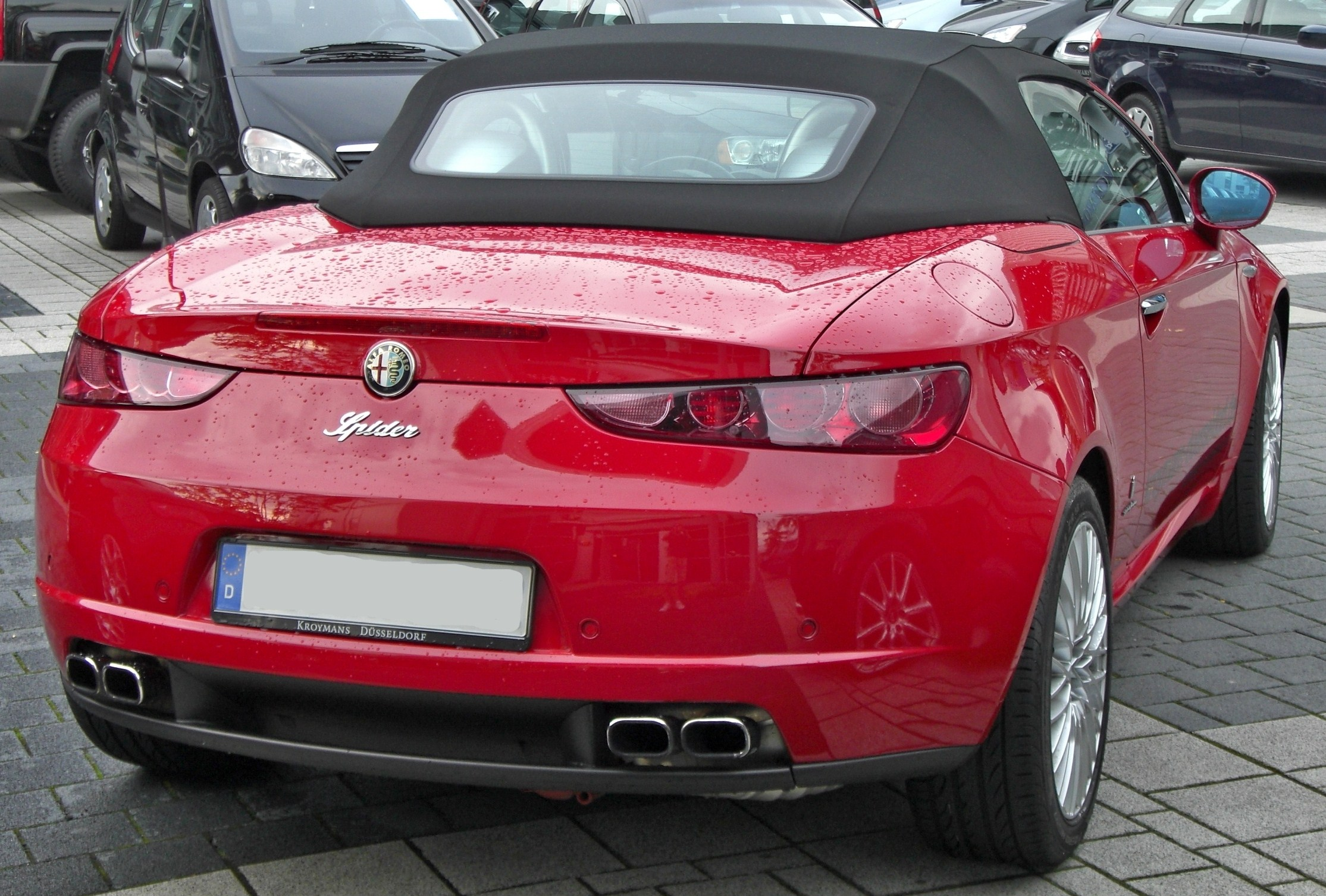 File:Alfa Romeo Spider rear-1.JPG - Wikimedia Commons