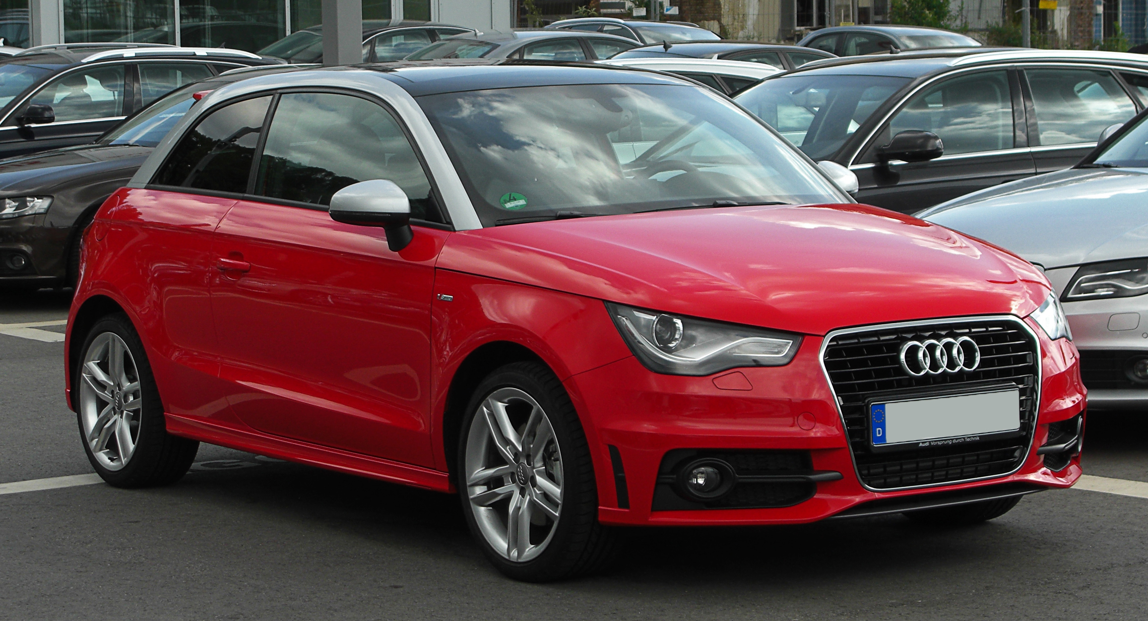 File Audi A1 1 4 Tfsi Ambition S Line Frontansicht 15