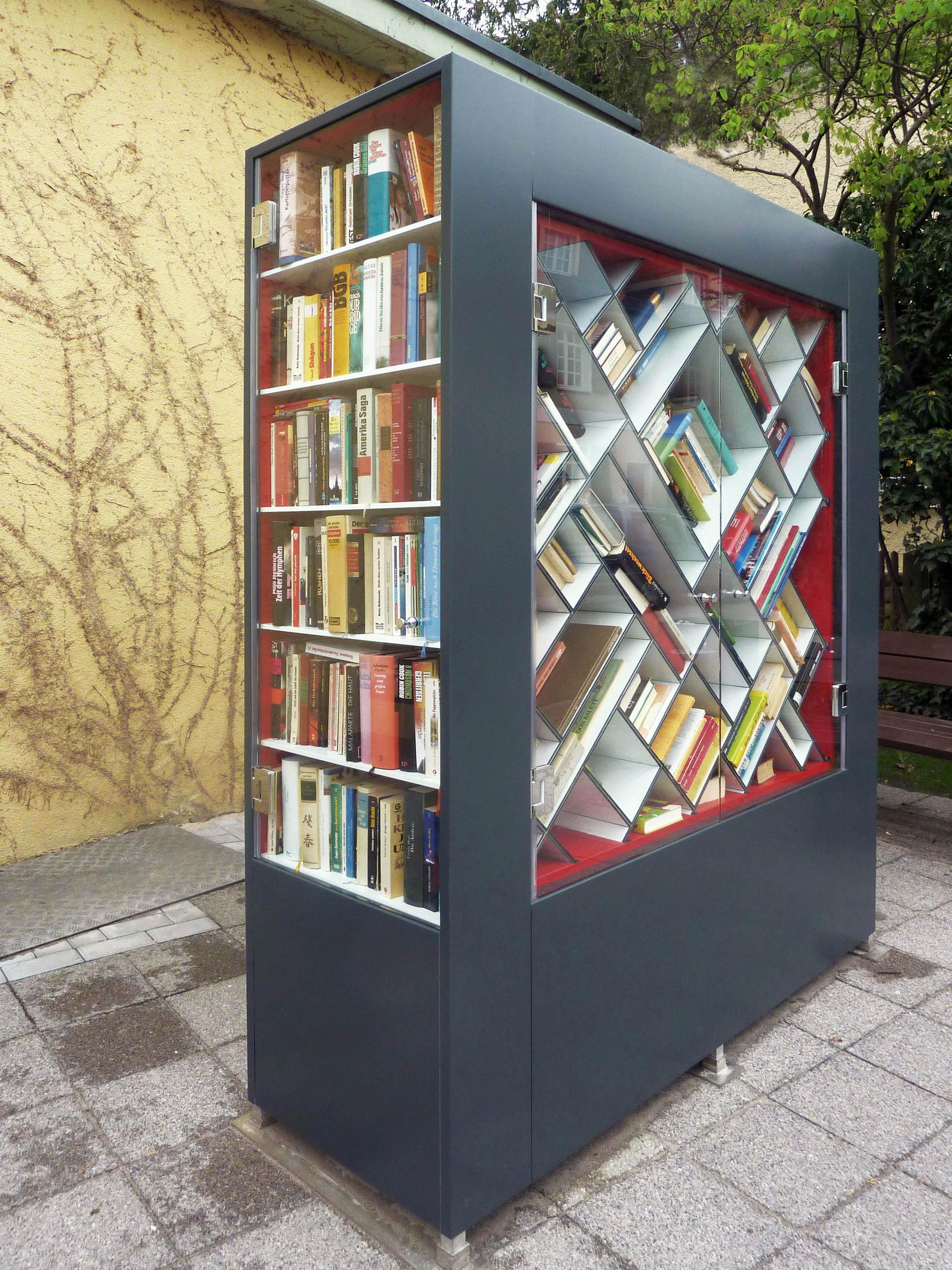 Bücherschrank Rüppurr, Karlsruhe