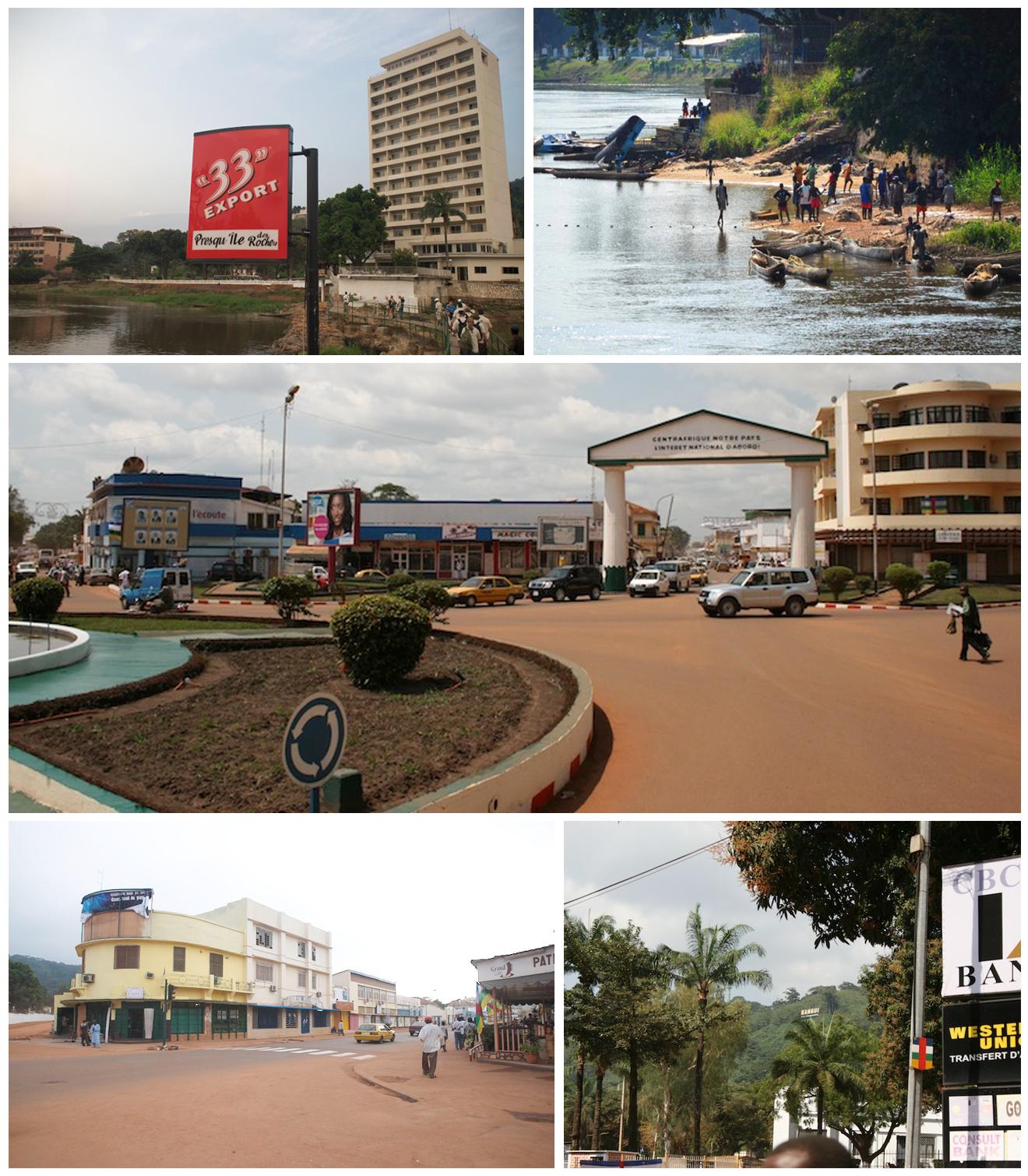 Depiction of Bangui