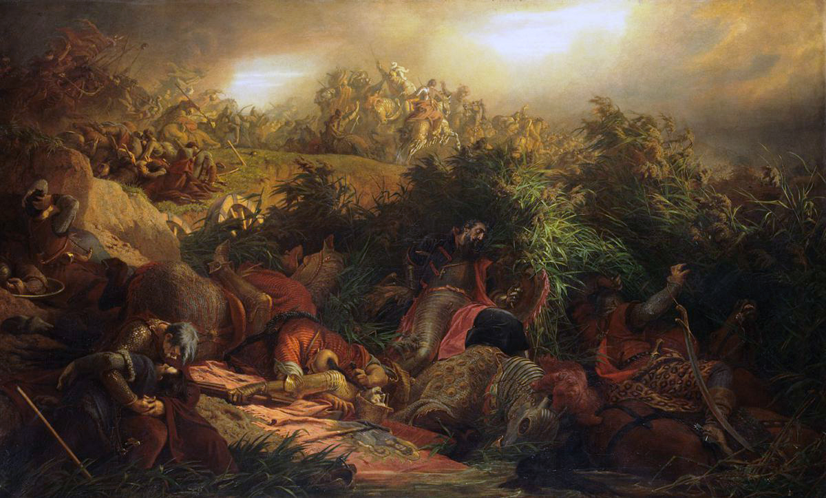 The Battle of Mohács.