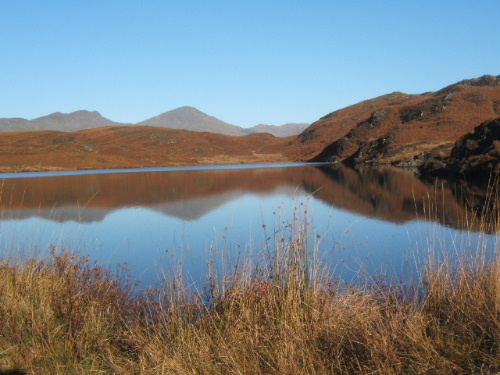 Beacon Tarn with reflections - geograph.org.uk - 540548
