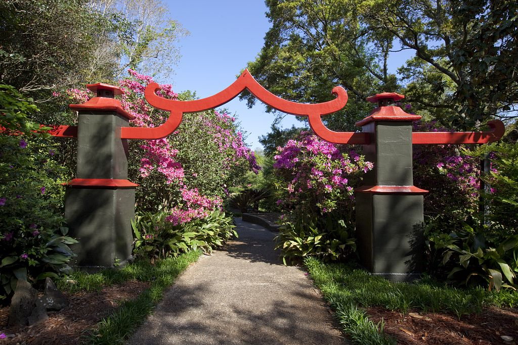 bellingrath garden oriental dragon christmas lights | Bellingrath Gardens, Theodore, AL