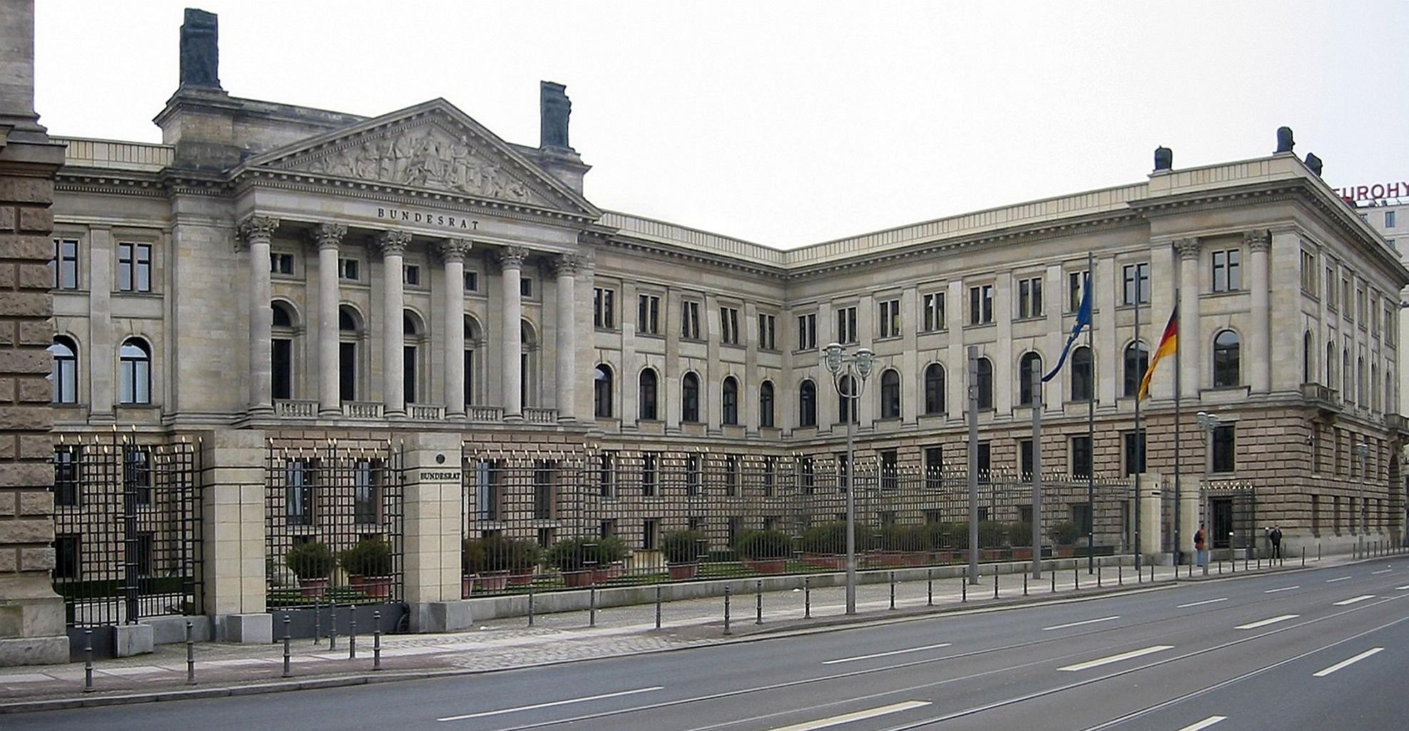 Preußisches Herrenhaus in Mitte, Sitz des Bundesrats