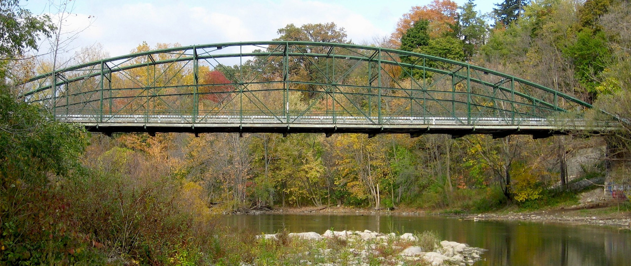 Truss Bridge Howe Diagram From Wikipedia By Alethe At English Cc Sa 30 The Bowstring Arch Through Was Patented In 1841