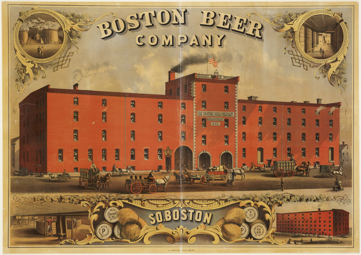 The Boston Beer Company's net income 2012-2017
