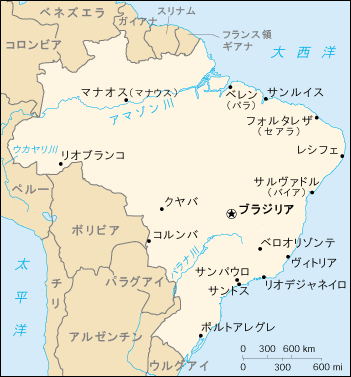 ブラジルの都市の一覧