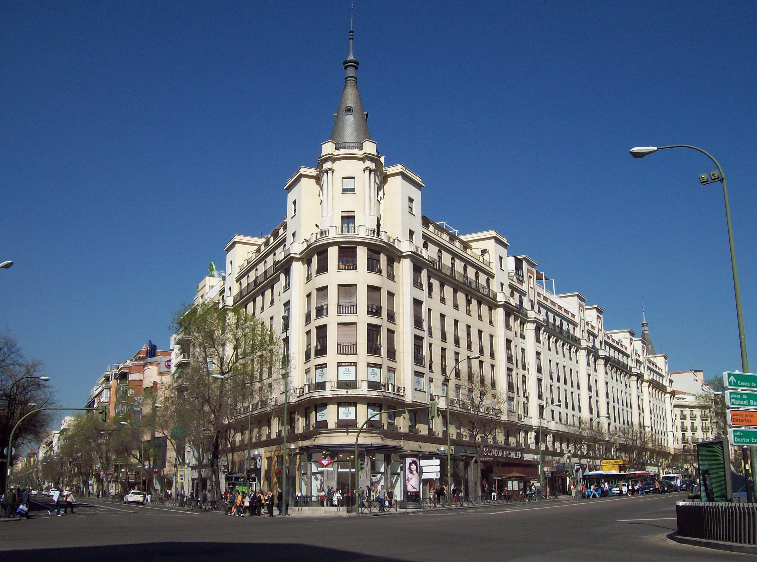 file calle de alcal 151 madrid wikimedia commons