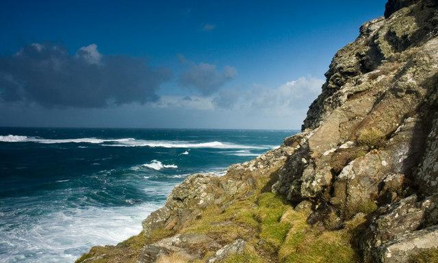Cape Cornwall Reefs - geograph.org.uk - 1498406