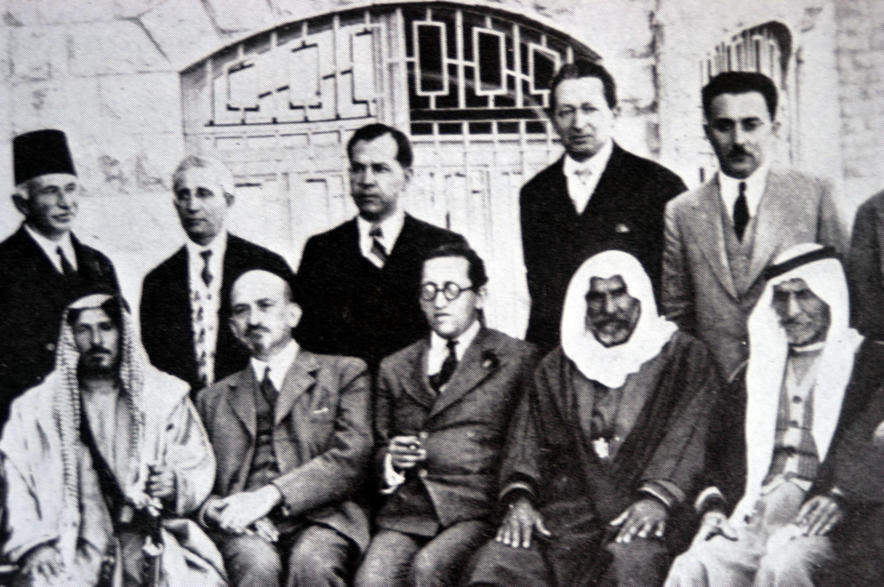 פגישת מנהיגים ציוניים עם נציגים מעבר הירדן