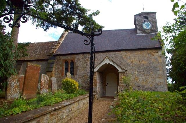 St James the Great parish church, Idlicote, Warwickshire