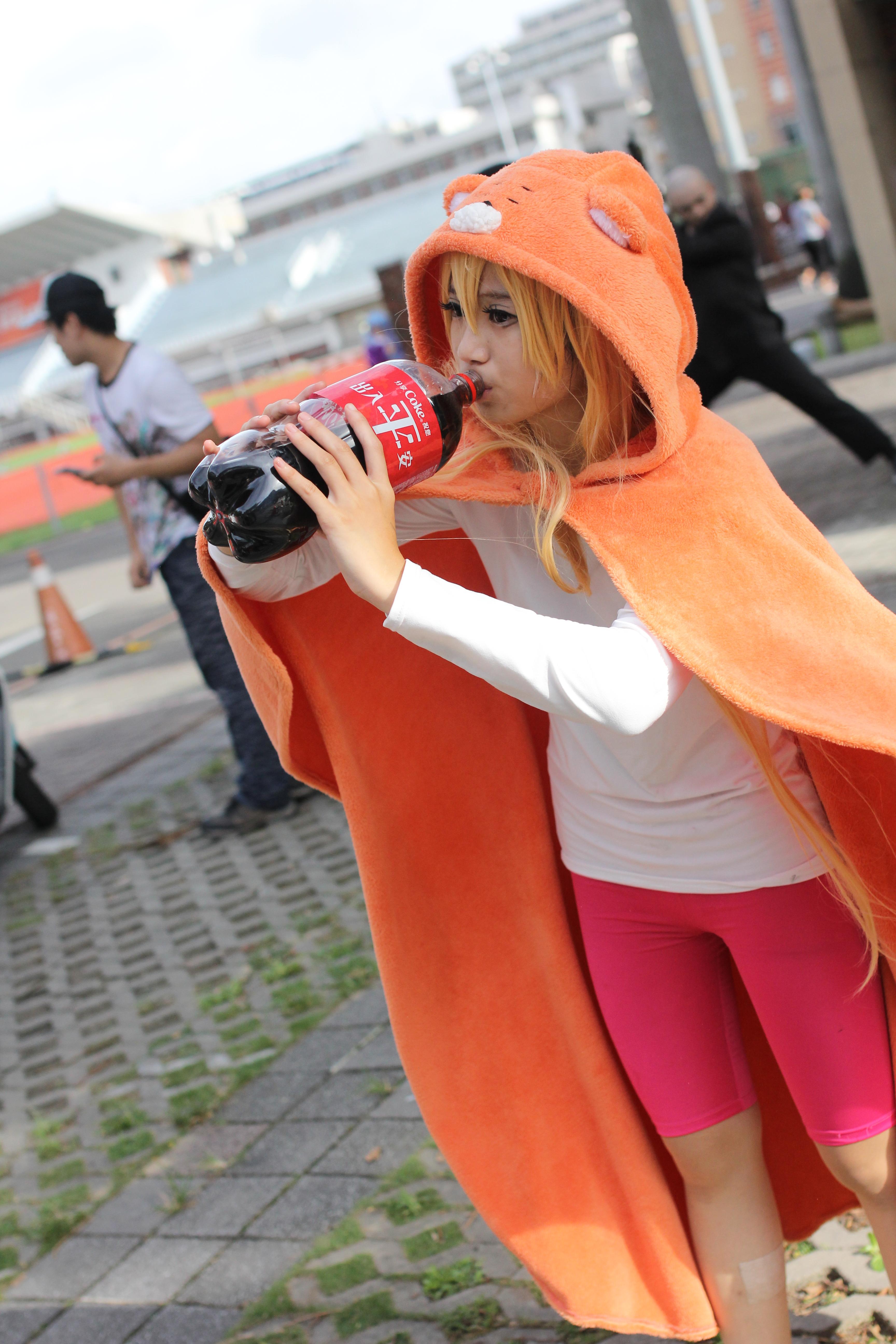 File:Cosplayer of Umaru Doma, Himouto! Umaru-chan at CWT T14