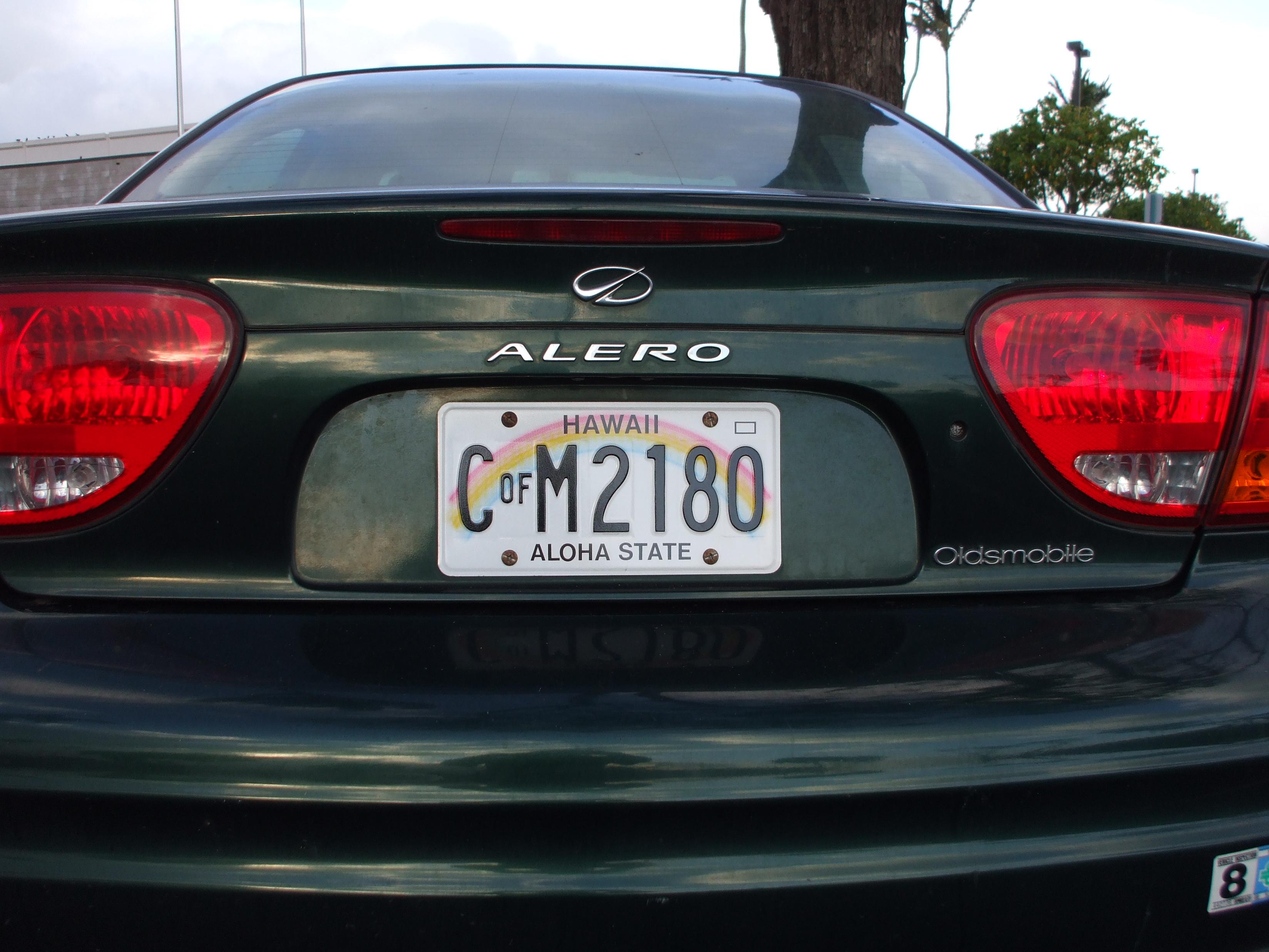 File:County of Maui, Hawaii vehicle CofM license plate.jpg ...