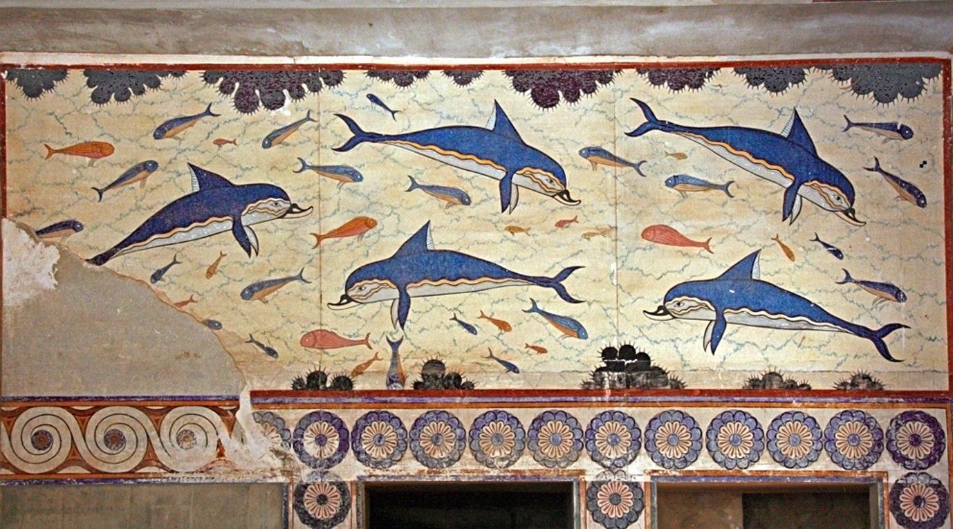 File dauphins de wikimedia commons for Ancient greek mural