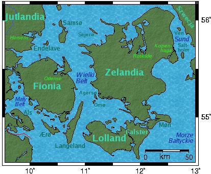 Wyspy Danii Wikipedia Wolna Encyklopedia