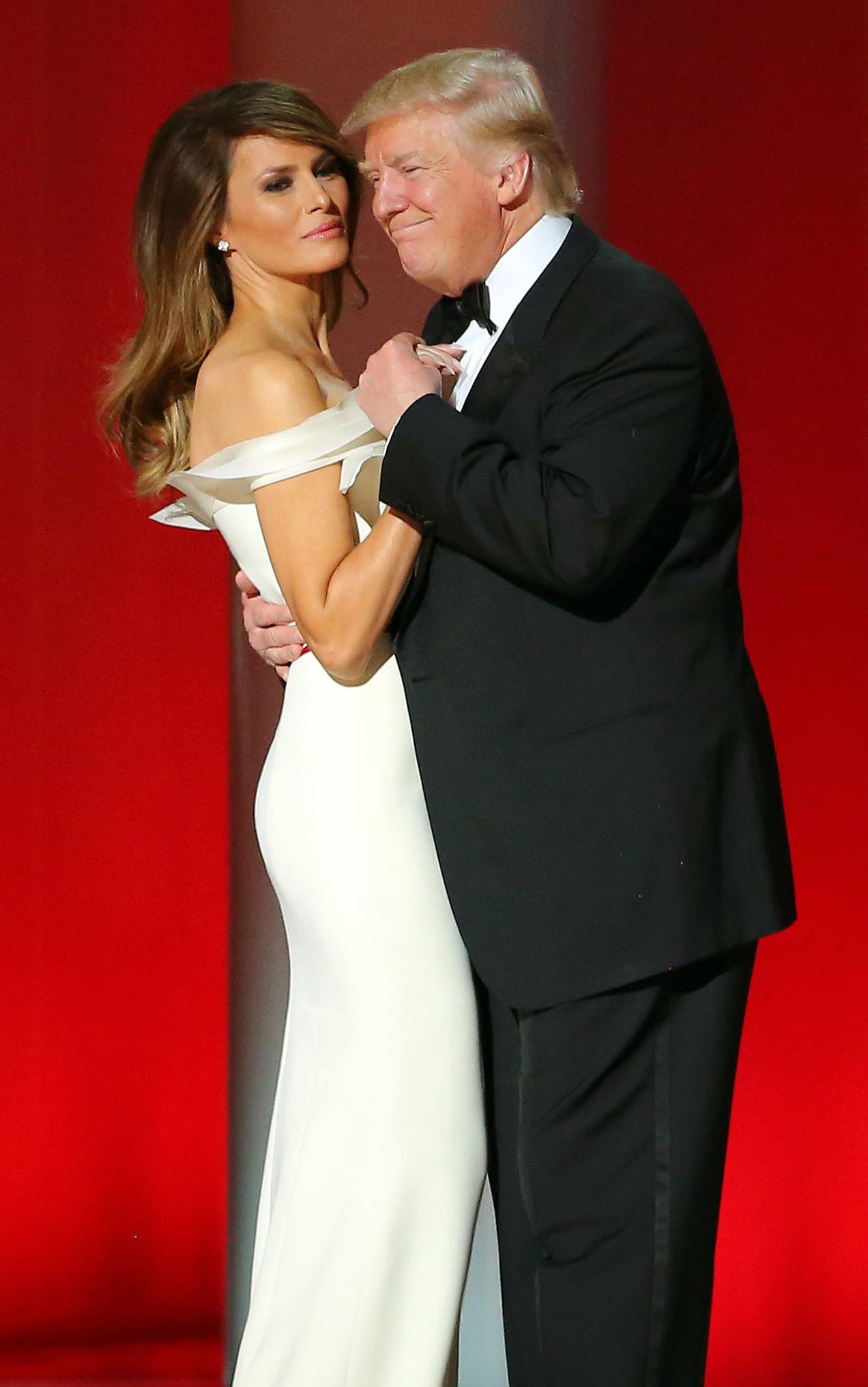 File Donald Melania Trump Dancing At Liberty Ball 01 20 17 Jpg Wikimedia Commons