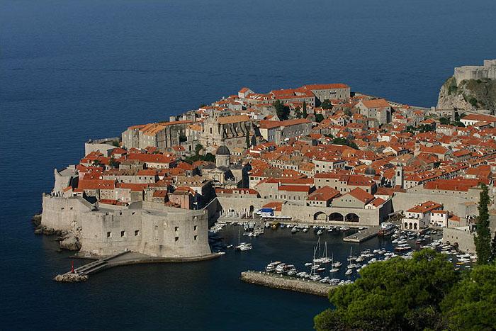 город Дубровник, Хорватия - прототип столицы 7 королевств - Королевской гавани