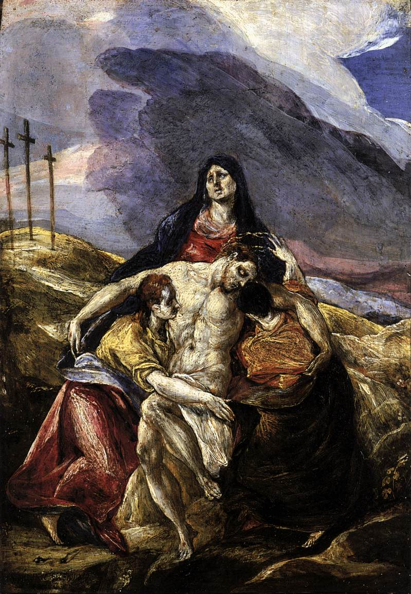 Pieta Paintings Art