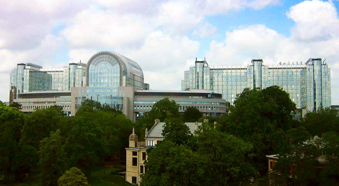 Europäisches Parlament Brüssel - Quelle: Wikimedia