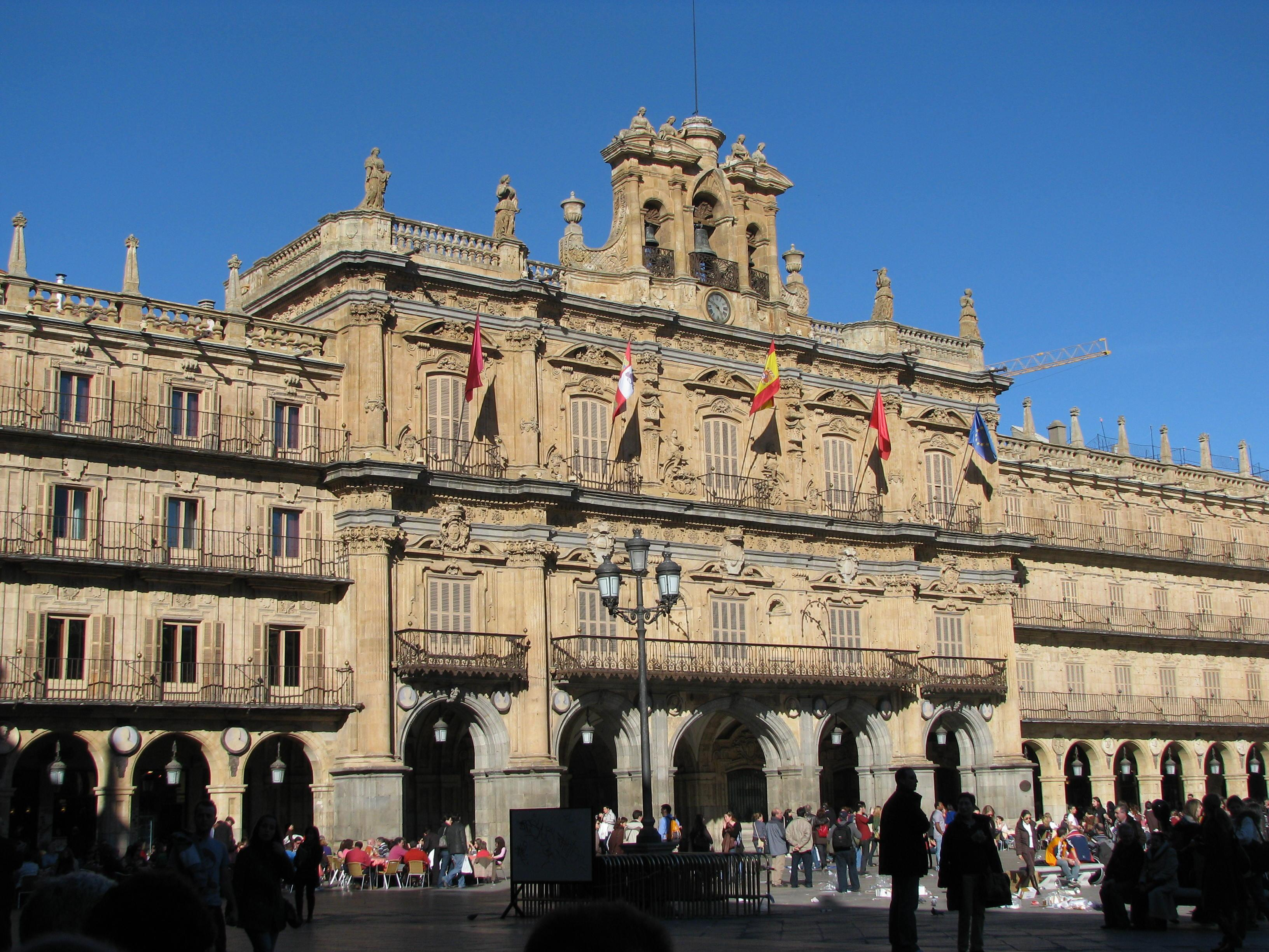Historia de la plaza mayor de salamanca wikipedia la - On salamanca ...
