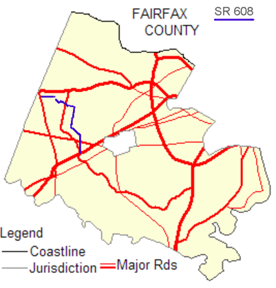 Virginia State Route 608 (Fairfax County) - Wikipedia