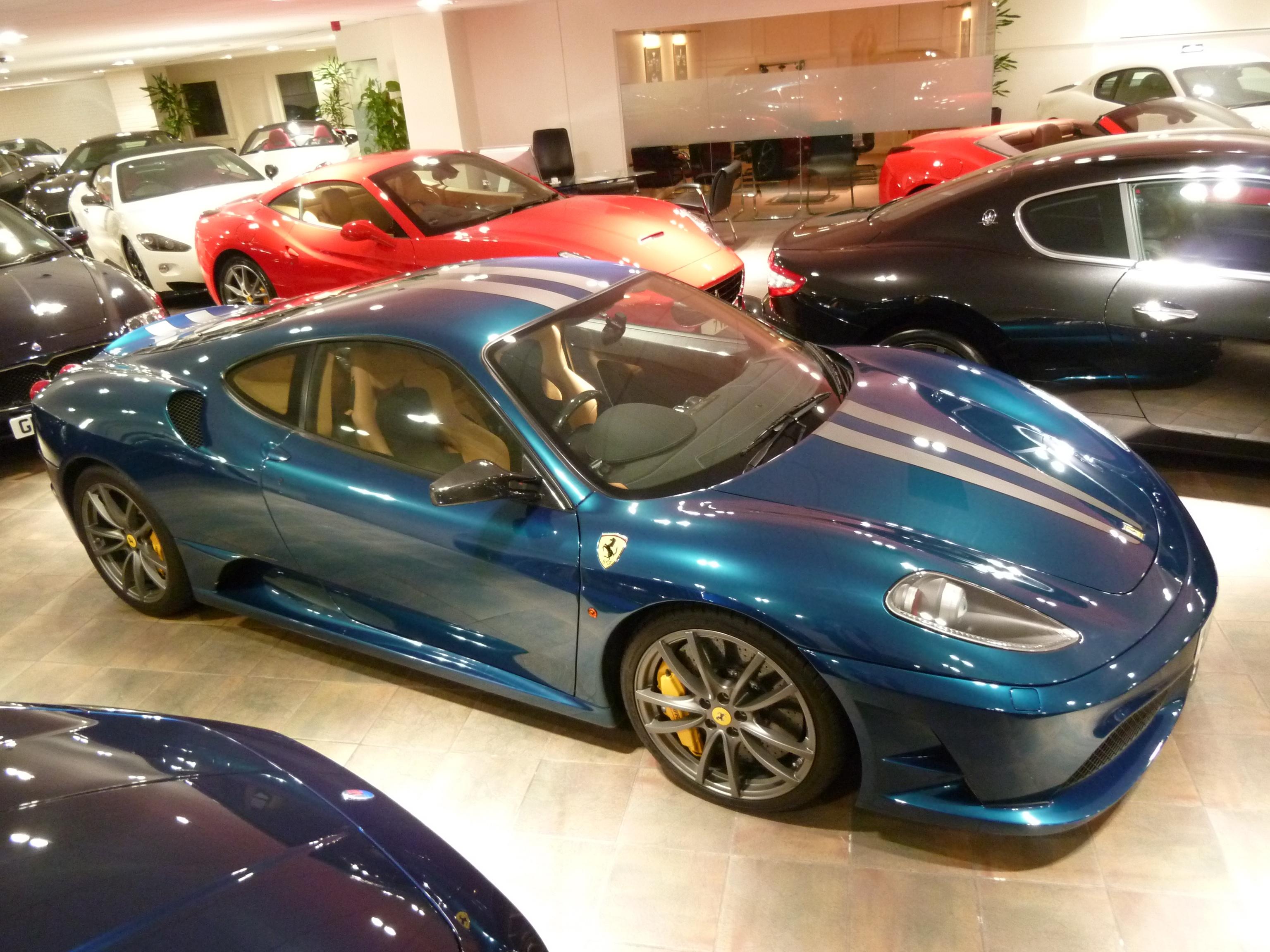 File Ferarri Ferrari F430 Scuderia Blue 6591148195 Jpg Wikimedia Commons