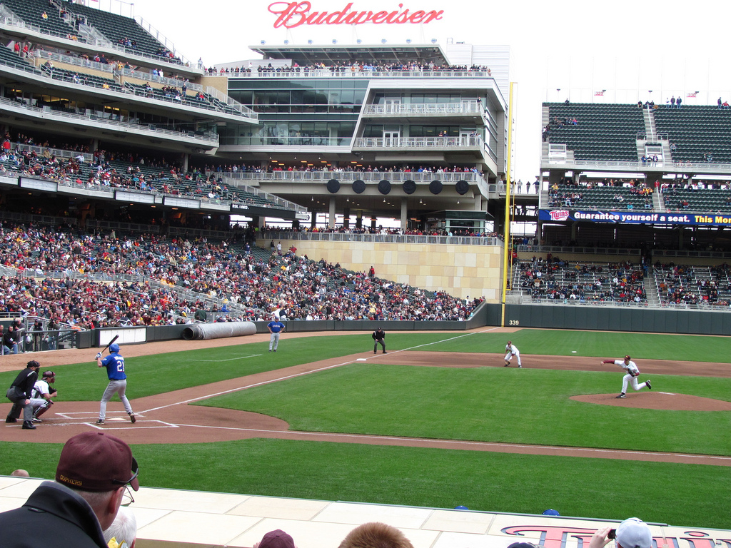 Check out these cool photos of Target Field in Minneapolis ...