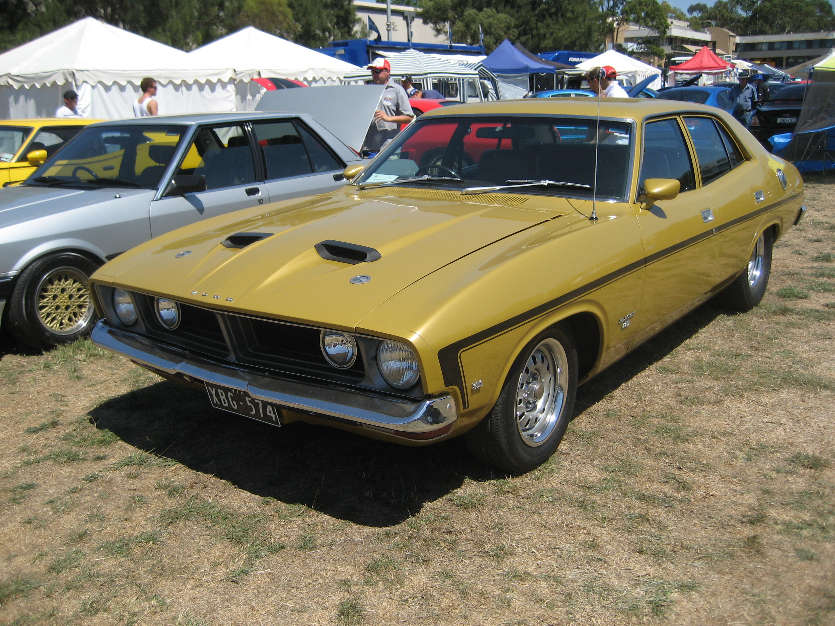 File Ford Falcon XB GS Sedan on 1974 ford interceptor