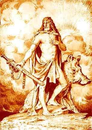 Although the Norse god Freyr functions as Hraf...