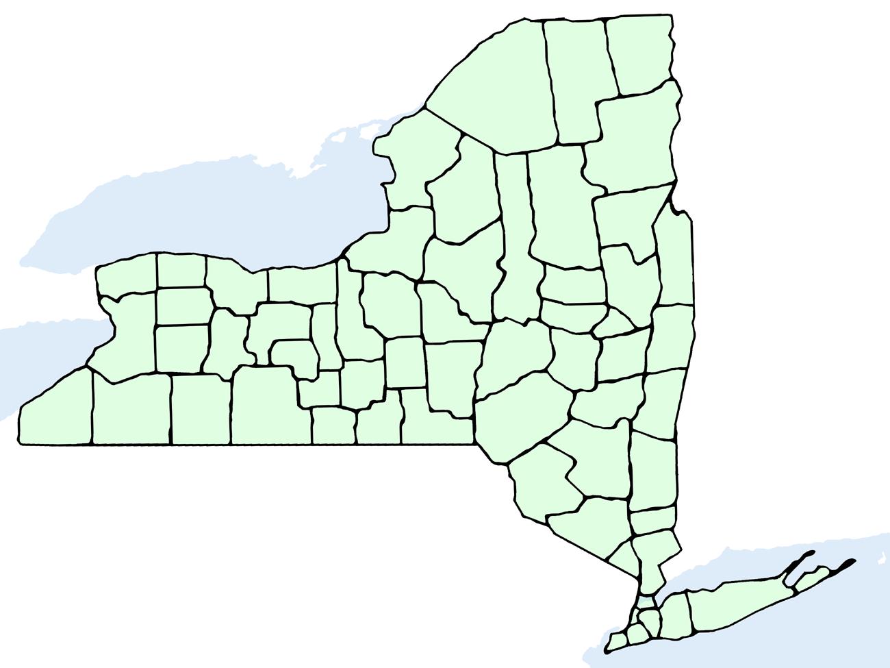 Nueva York Mapa Groveland