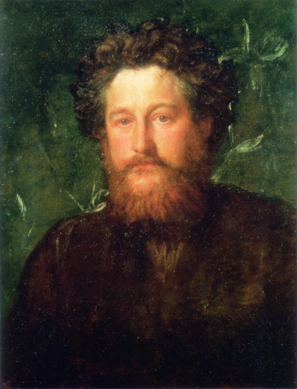 George Frederic Watts portrait of William Morris 1870 v2