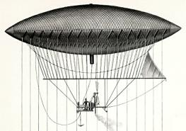ballon dirigeable 1852