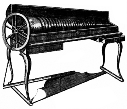 Image of the glassharmonica, invented by Benja...
