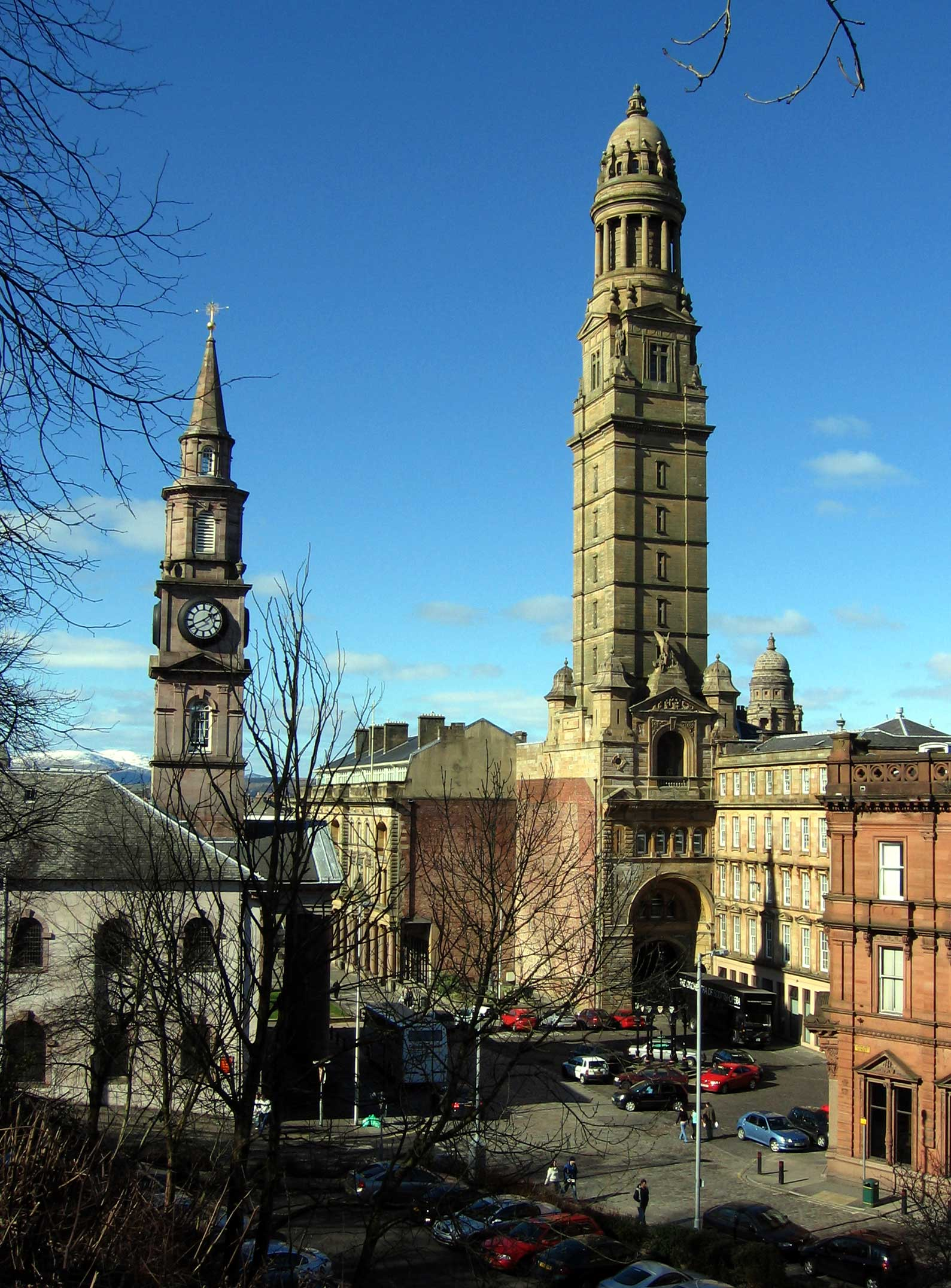 The council is based at the Municipal Buildings in Greenock.