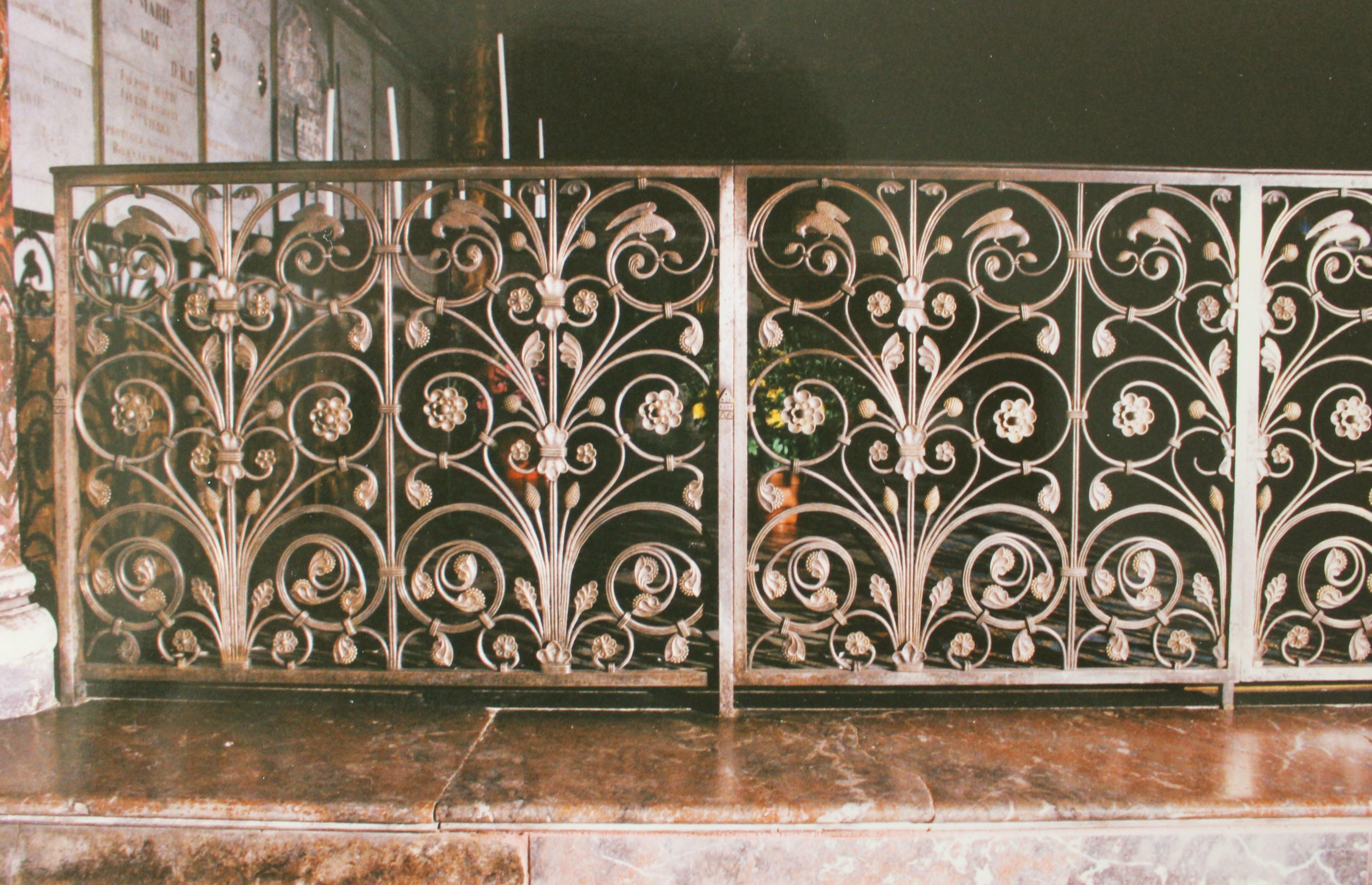 Fichiergrille Chapelle Vierge Basilique Notre Dame De