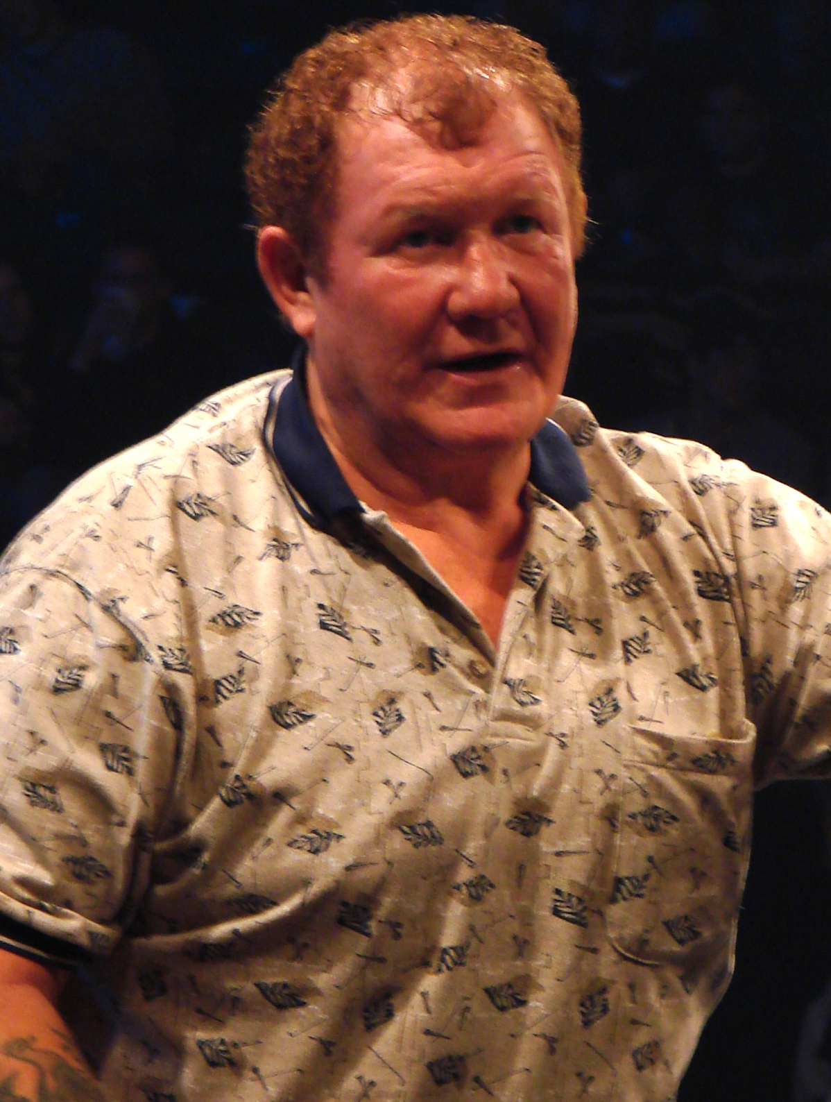 The 75-year old son of father (?) and mother(?) Harley Race in 2018 photo. Harley Race earned a  million dollar salary - leaving the net worth at 12 million in 2018
