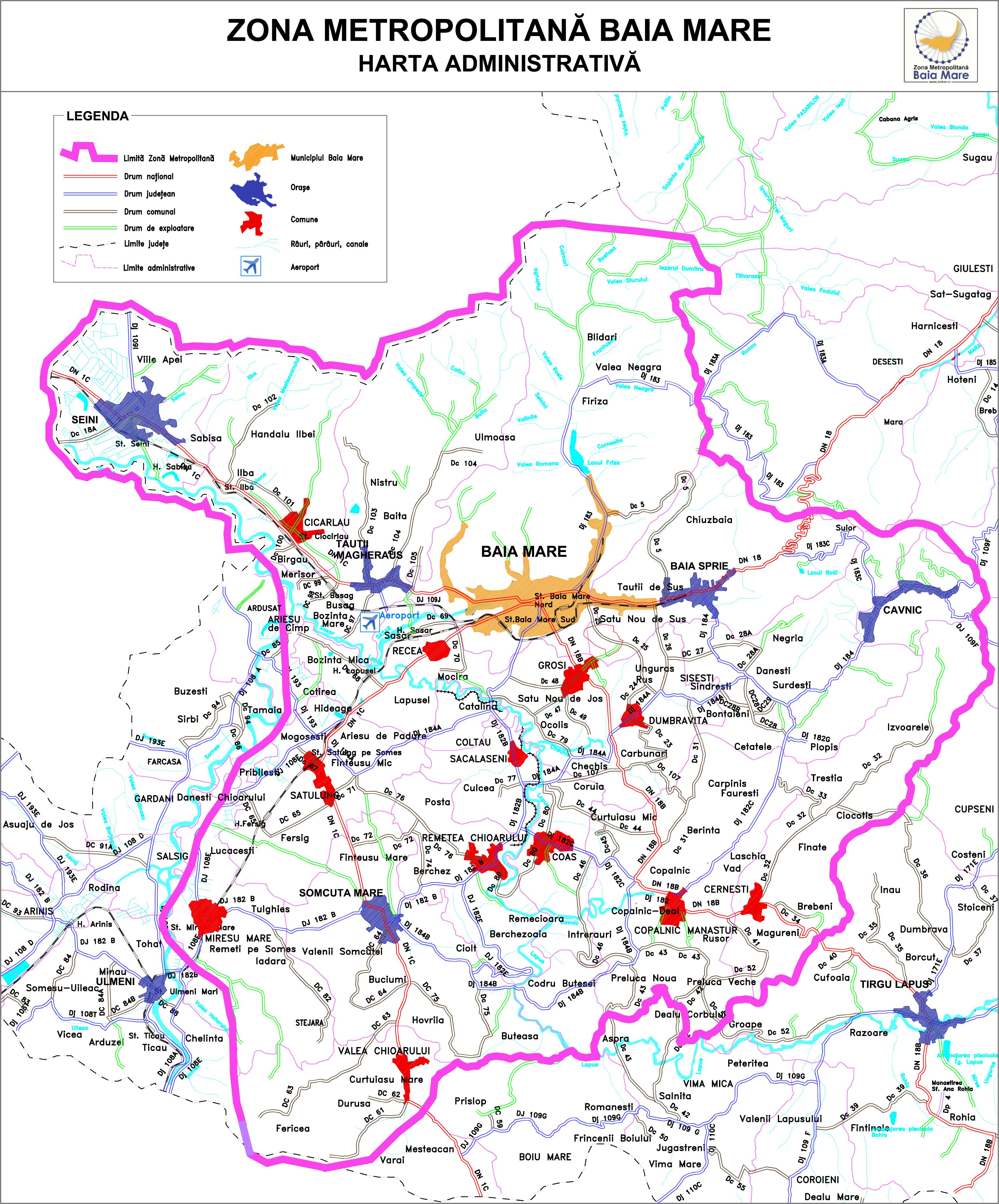 Baia Mare Metropolitan Area Wikipedia