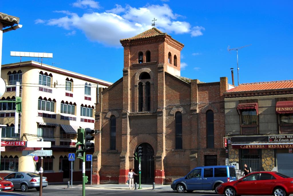 Barrio de la estaci n guadalajara wikipedia la for Codigo postal del barrio de salamanca en madrid