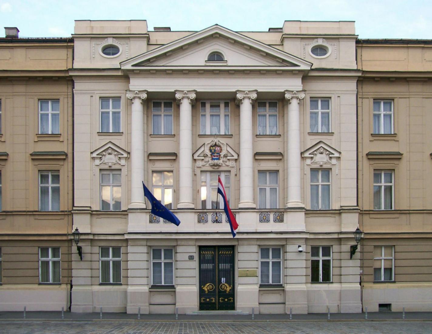 4307a4bc1 Background edit . Croatian Parliament building