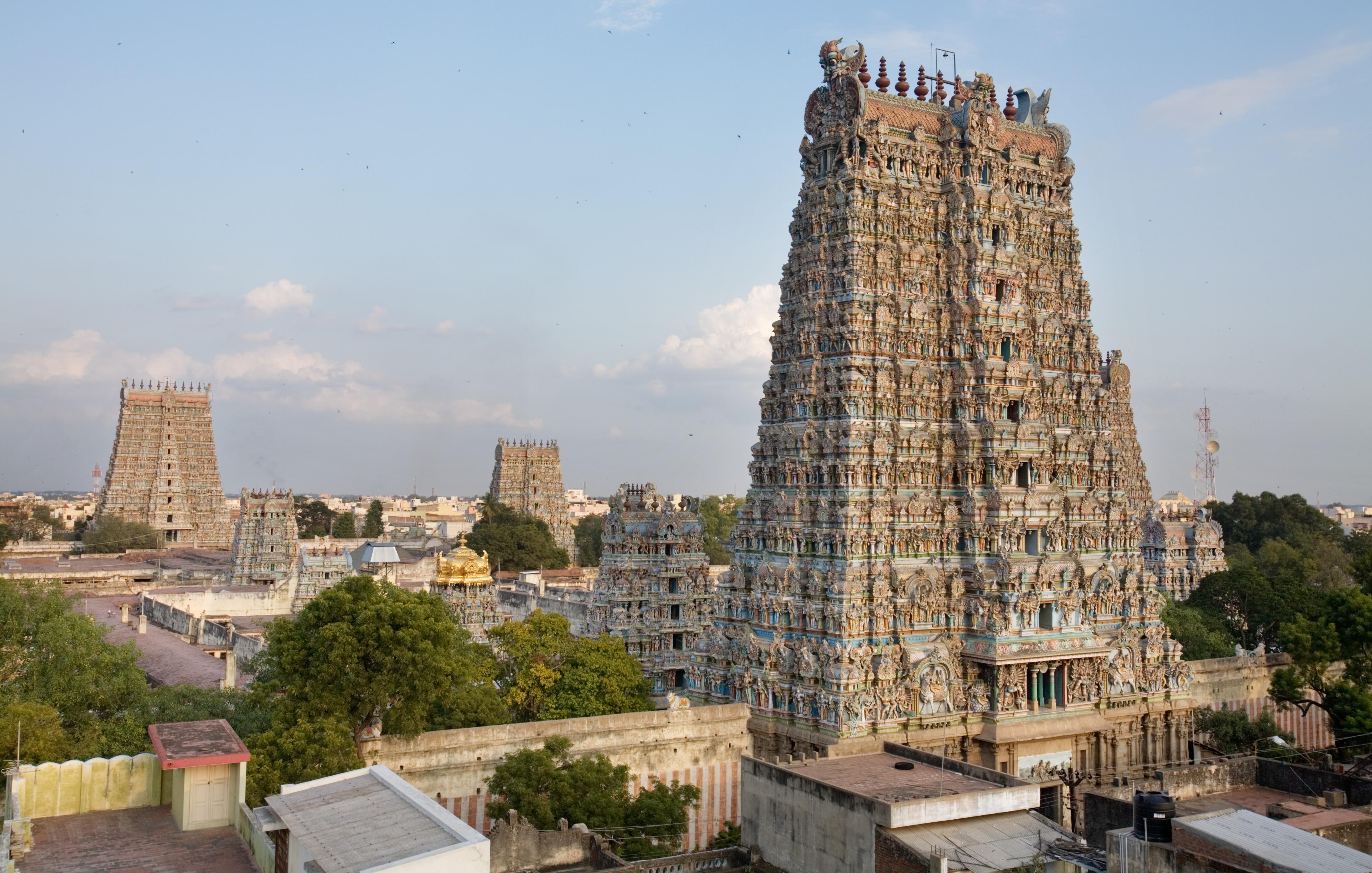 Meenakshi Amman Temple, Madurai, Tamil Nadu, India [4368 × 2779]